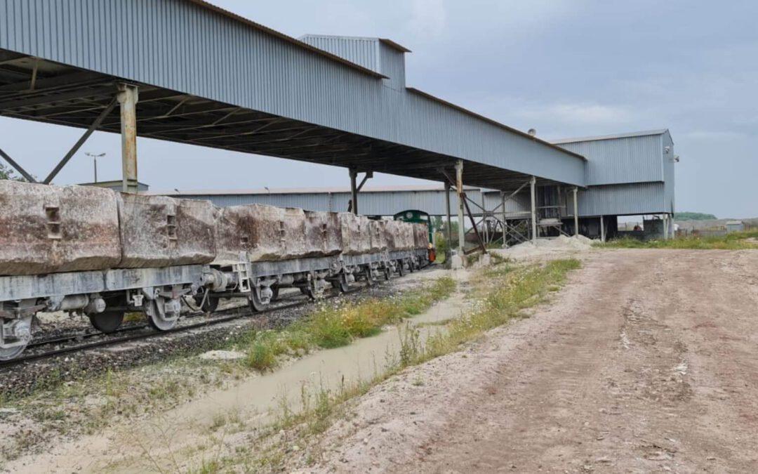 Dostawa imontaż urządzeń urabiania itransportu kredy wkopalni Chełm