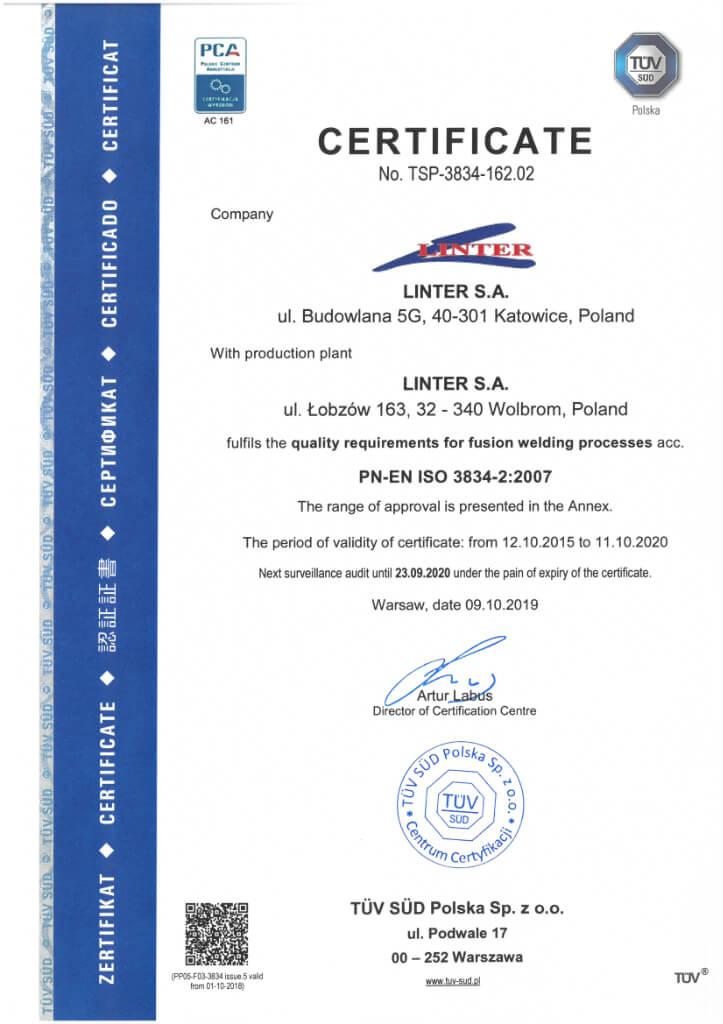 Certyfikat 22 1 En