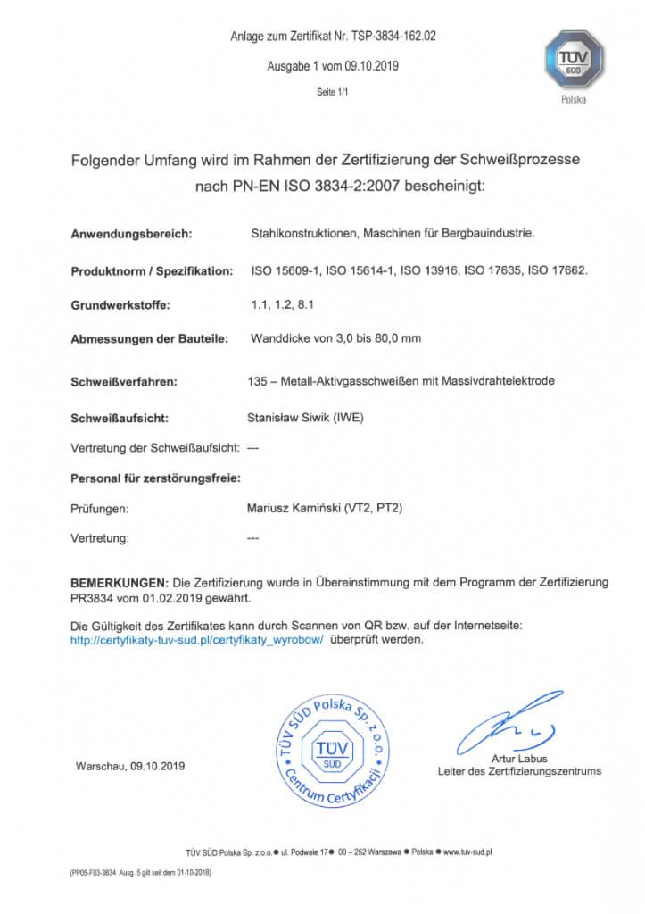 Certyfikat 22 2 De