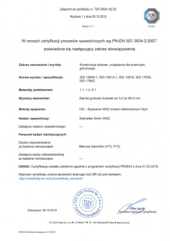 Certyfikat 22 2 Pl
